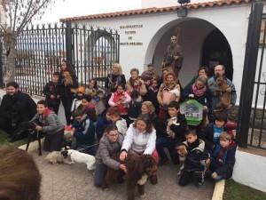 Bendición de animales por San Antón en Fuente Obejuna