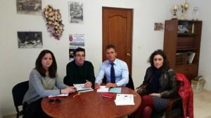 Alcaldes de municipios dentro del área de influencia de El Cabril