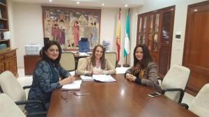 Inmaculada Gómez, Esther Ruiz y Silvia Mellado. - Foto: EUROPA PRESS