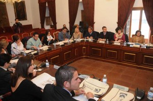 Consejo de alcaldes de Diputación