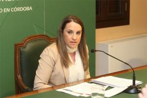 La delegada territorial de Educación, Esther Ruiz. - Foto: SÁNCHEZ MORENO