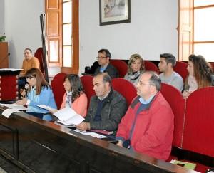Un momento del pleno celebrado por la Corporación municipal. - Foto:M.J.G.