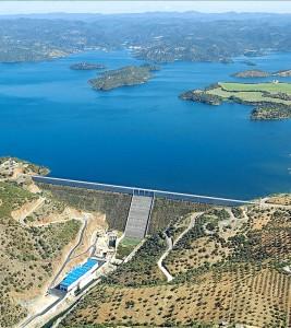 Embalse de La Breña, el segundo más importante de Andalucía. - Foto:CORDOBA