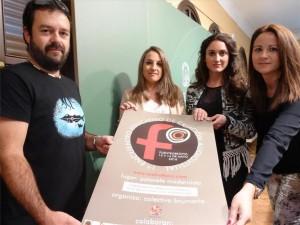 La delegada de Educación, la alcaldesa de Fuente Obejuna y la diputada de Turismo apoyan el 1º encuentro de Creación Audiovisual de Corto (FOCO). - Foto: CÓRDOBA