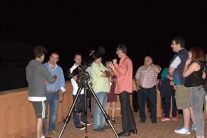 Conferencia sobre tipos de telescopios