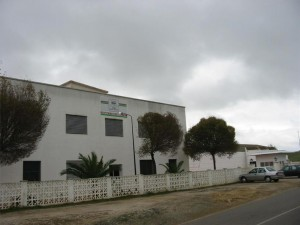 Fachada del matadero de Fuente Obejuna. - Foto: MEDITERRÁNEO