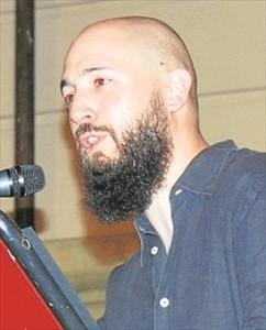 El actor Luis Miguel Molina. -