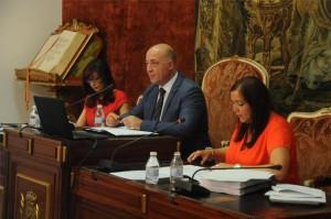 Antonio Ruiz preside el Pleno de la Diputación de esta mañana. - Foto: CÓRDOBA