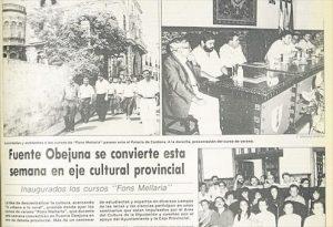 Diario CÓRDOBA dio cuenta de los cursos. - EVA MARÍA HERAS