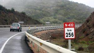 Los alcaldes reclaman que se desdoble el trazado de la N-432