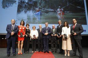 Los premiados en la séptima gala del Turismo de Córdoba. - A. J. GONZÁLEZ