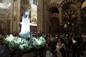 Un momento del acto, celebrado ayer en la Catedral de Córdoba. - MANUEL MURILLO