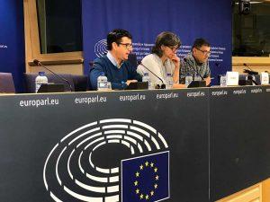 IU exige desde Bruselas el pago de los Fondos Miner