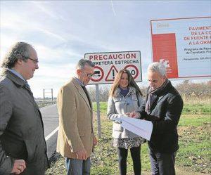 El diputado Maximiano Izquierdo y la alcaldesa mellariense, Silvia Mellado. - EVA M. HERAS