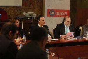 magen durante la reunión del Consejo Social de la UCO. - MIGUEL ÁNGEL SALAS