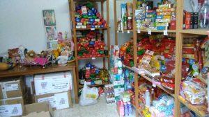 500 kilos de alimentos para los más necesitados