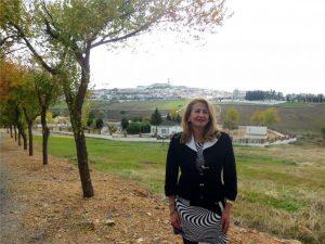 La diputada nacional y portavoz del PP en el Ayuntamiento de Fuente Obejuna (Córdoba), Isabel Cabezas. - Foto: CÓRDOBA