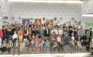 El CPR Maestro José Alcolea celebra el 28-F - EVA M. HERAS
