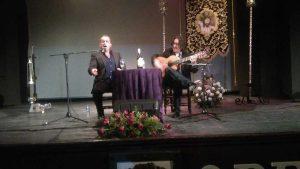 Actuaron al cante Eusebio Medina y Francisco Sánchez y a la guitarra les acompañó José Manuel Hierro