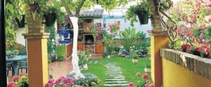 Uno de los patios ganadores en El Carpio.