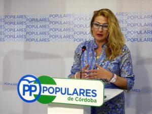 La diputada nacional del PP Isabel Cabezas. - Foto: EUROPA PRESS