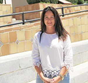 La alcaldesa de Fuente Obejuna, Silvia Mellado Ruiz. - EVA M. HERAS