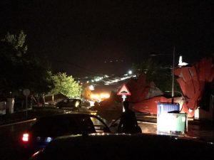 Daños provocados por la tormenta en el pabellón polideportivo de Fuente Obejuna. - EVA MARÍA HERAS