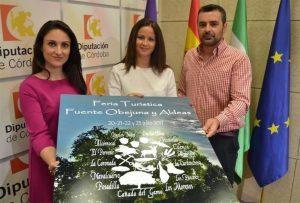 Gómez (izda.) y Mellado en la presentación de la Feria Turística. - EUROPA PRESS