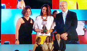 """Silvia Mellado recoge el Premio """"Cordobeses del año"""""""