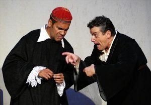 Un momento de la representación del Corral de Comedias de Almagro. - EVA M. HERAS