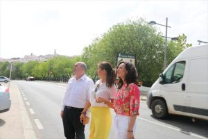 Juan Manuel Fernández, Silvia Mellado y Rafaela Crespín. - CÓRDOBA