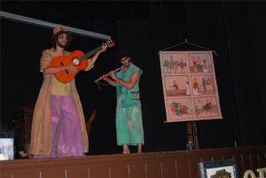 Una representación en el Festival de Teatro Clásico de Fuente Obejuna. - EVA MARÍA HERAS