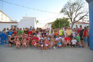 Los participantes, instantes antes de la salida de la carrera. - EVA M. HERAS